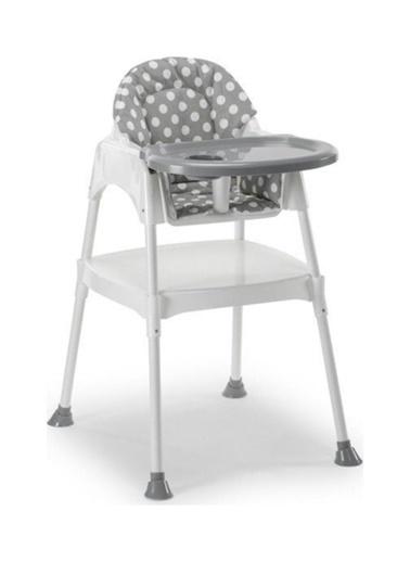 Moje Moje Kılıflı Bebek Mama Sandalyesi Renkli